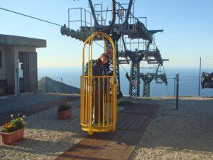 Insel Elba - Seilbahn auf den Monte Capanne