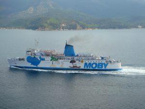 Moby Auto-Fähre zur Insel Elba