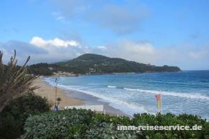 Strandatmosphäre auf der Insel Elba