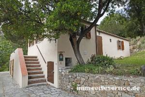 Elba Ferienhaus Casa Renato in Procchio - Außenansicht