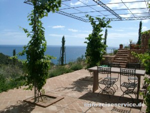 Elba Urlaub im Ferienhaus Elba: Villa Golfo Stella, untere Ebene in Capoliveri-Stecchi