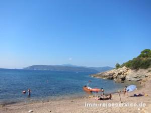 Elba-Strand von Madonna delle Grazie