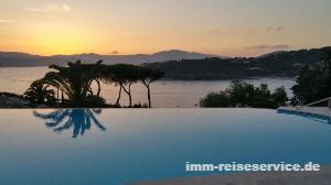 Cala Silente, Infinity Pool, Capolieri, Pareti, Insel Elba, Ferienanlage, Ferienwohnungen Elba mit Pool