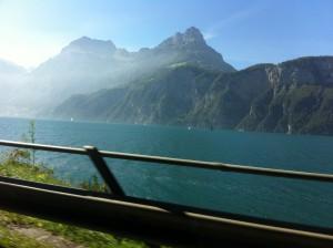 Blick auf den Vierwaldstätter See, Fahrt nach Elba, IMM Reiseservice