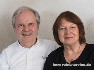 Ingrid Mangold-Mertin und Eberhard Mertin, Besitzer von IMM Reiseservice, Vemittlung von Elba Ferienhaus, Elba Ferienwohnung, Elba Villa, Elba Ferienanlage, Elba Hotel.