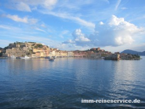 Insel Elba, Portoferraio mit Festung und Hafen, Elba Ferienhaus, Elba Ferienwohnung, Elba Villa