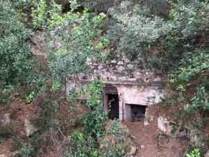 Insel Elba Capo d'Enfola - Bunker