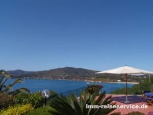 Elba Villa mit Meerblick in Zuccale, Capoliveri, Insel Elba, bei IMM Reiseservice buchen