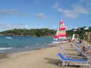 Strand von Naregno, Capoliveri, Insel Elba