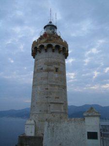 Leuchturm im Forte Stella
